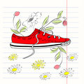 Free Decorative Illustration Of Shoe Stock Photography - 19367142