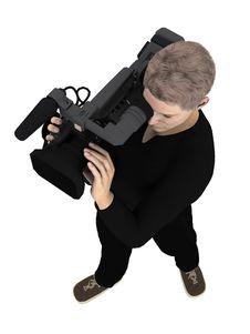 Free Camera Crew Stock Photo - 19360270