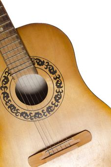 Free Acoustic Guitar Stock Photo - 19360380