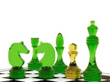 Free Glass Chess Royalty Free Stock Photos - 19360998