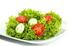 Free Salad Ready To Go Royalty Free Stock Images - 19361009