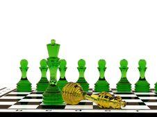 Free Glass Chess Royalty Free Stock Photo - 19361085