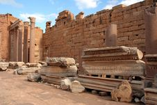 Basilica At Leptis Magna Libya Royalty Free Stock Images