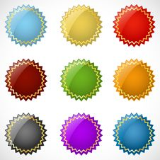 Different Colorful Logo Stock Photography