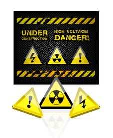 Free Danger Sign Stock Photo - 19362950