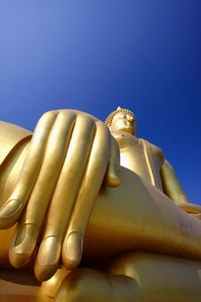 Free Biggest Buddha Image Royalty Free Stock Images - 19362999