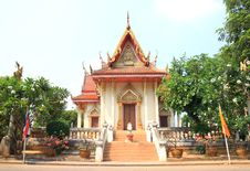 Free Church Of Thai Arts Royalty Free Stock Photos - 19363578