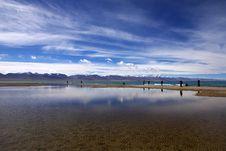 Namtso Lake Stock Image