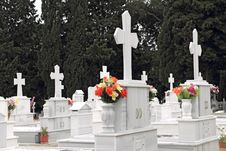Free Orthodox Cemetery Stock Photos - 19364043