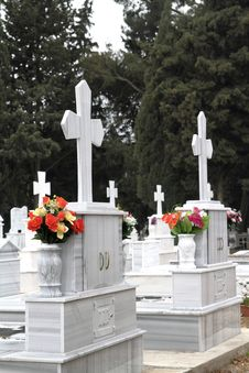 Free Orthodox Cemetery Stock Photos - 19364083