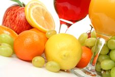 Free Fresh Fruit And Juice Stock Photos - 19364203