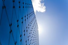 Free Cool Blue Glass And Steel Architecture Stock Images - 19365614