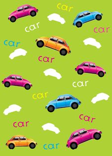 Free Background With Cars Royalty Free Stock Images - 19366379