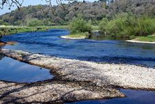 Free River Blackwater In Lismore Royalty Free Stock Image - 19366896