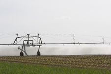 Free Spray Irrigation System Stock Photography - 19367112