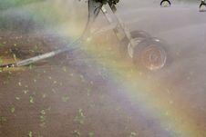 Free Rainbow By Spray Irrigation System Stock Photos - 19367253