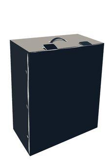 Free Black Box Royalty Free Stock Photos - 19368408