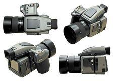 Professional Digital Camera Royalty Free Stock Photos