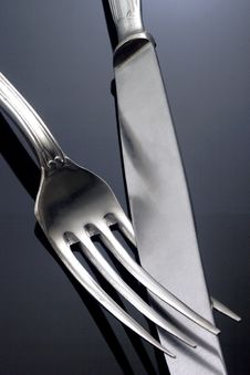 Free Fork And Knife Royalty Free Stock Images - 19368629
