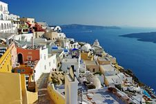 Free Santorini Before Sunset Royalty Free Stock Photo - 19368975