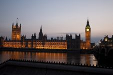 Free Houses Of Parliament, London Stock Photography - 19369572