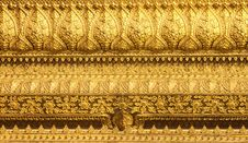 Free Detail Traditional Thai Style Royalty Free Stock Photography - 19369637
