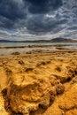 Free Sandstone On Beach Royalty Free Stock Photo - 19372825