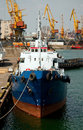 Free Ship In The Port Royalty Free Stock Photos - 19378388