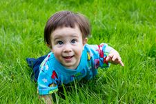 Free Little Boy At The Park Royalty Free Stock Image - 19370126