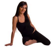 Free Yoga Pose Royalty Free Stock Photo - 19370905