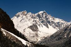 Free Himalayan Peak Royalty Free Stock Photography - 19371197