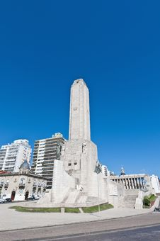 Free Monumento A La Bandera At Rosario City. Stock Photo - 19371540