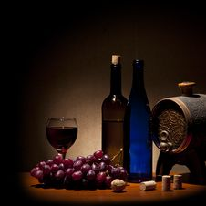 Free Wine Composition Stock Photography - 19372002