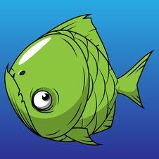 Green Fish Stock Photography