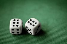 Free Dice Royalty Free Stock Images - 19372709