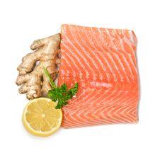Free Salmon Royalty Free Stock Photo - 19372875