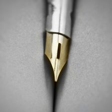 Free Pen Detail Royalty Free Stock Image - 19373096