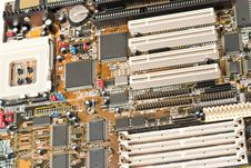 Free Computer Motherboard Royalty Free Stock Photos - 19374578
