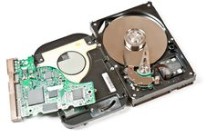 Free Opened Hard Drive Stock Photos - 19374653