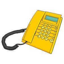 Free Illustration Of Isolated Phone Royalty Free Stock Photos - 19375148