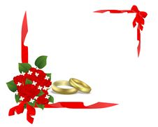 Wedding Card, Cdr Vector Stock Photo