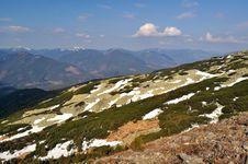 Free Spring Gorgany Ridges In Carpathians Stock Photo - 19375920