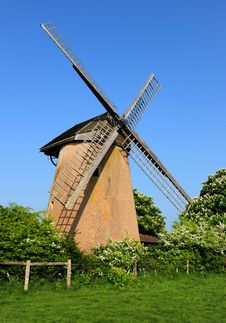 Free Isle Of Wight Windmill Royalty Free Stock Image - 19376396