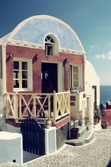 Free Santorini, Greece Royalty Free Stock Image - 19376866