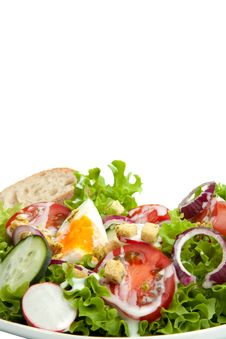 Free Salad Croutons Stock Images - 19377224