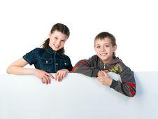 Free Two Smily Kids Stock Photo - 19377790