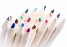 Free Colorful Pencils Royalty Free Stock Photos - 19377848