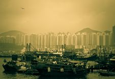 Free Hong Kong Typhoon Shelter Stock Images - 19378504