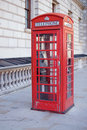Free Red London Telephone Box Stock Images - 19383114