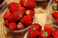Free Strawberry In A Market Royalty Free Stock Image - 19385626